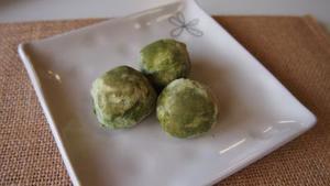 【卵・乳製品不使用】抹茶ボール(3個入り)