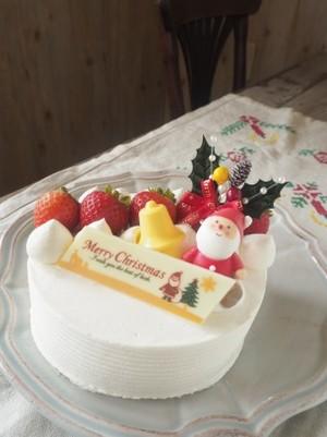 いちごのクリスマス 15cm