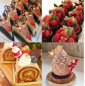 クリスマスBOX(ピースケーキ4個セット)